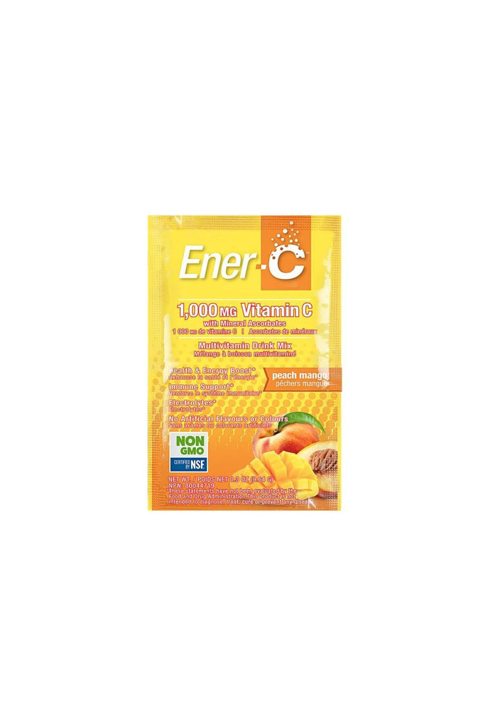 Ener-C Peach Mango Multivitamin Drink Mix - 1,000mg Vitamin C 1 Sachet