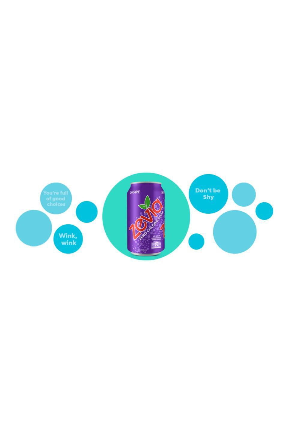 Zevia Grape 355ml