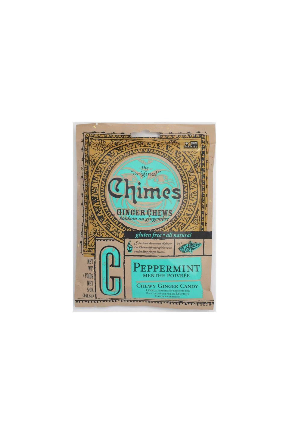 Chimes Peppermint Ginger Chews 141.8g