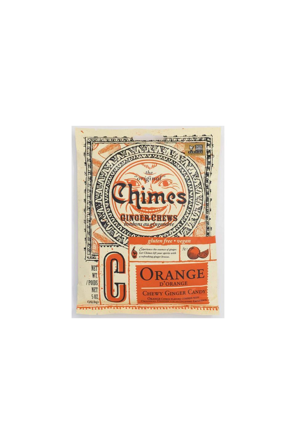 Chimes Orange Ginger Chews 141.8g