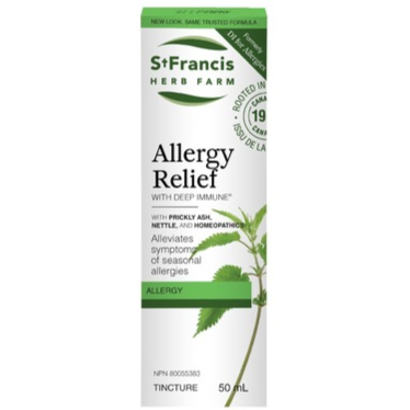 St. Francis Allergy Relief with Deep Immune Allergy 50ml