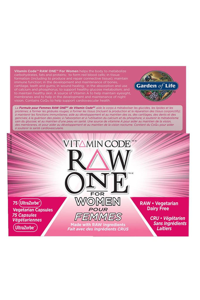 Garden of Life Vitamin Code Raw One For Women 75s