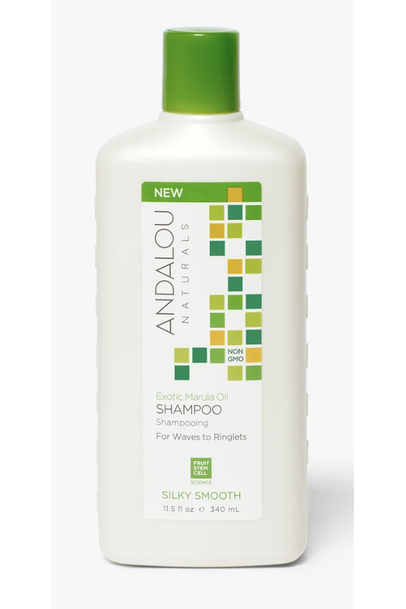 Andalou Exotic Marula Oil Silky Smooth Shampoo 340ml