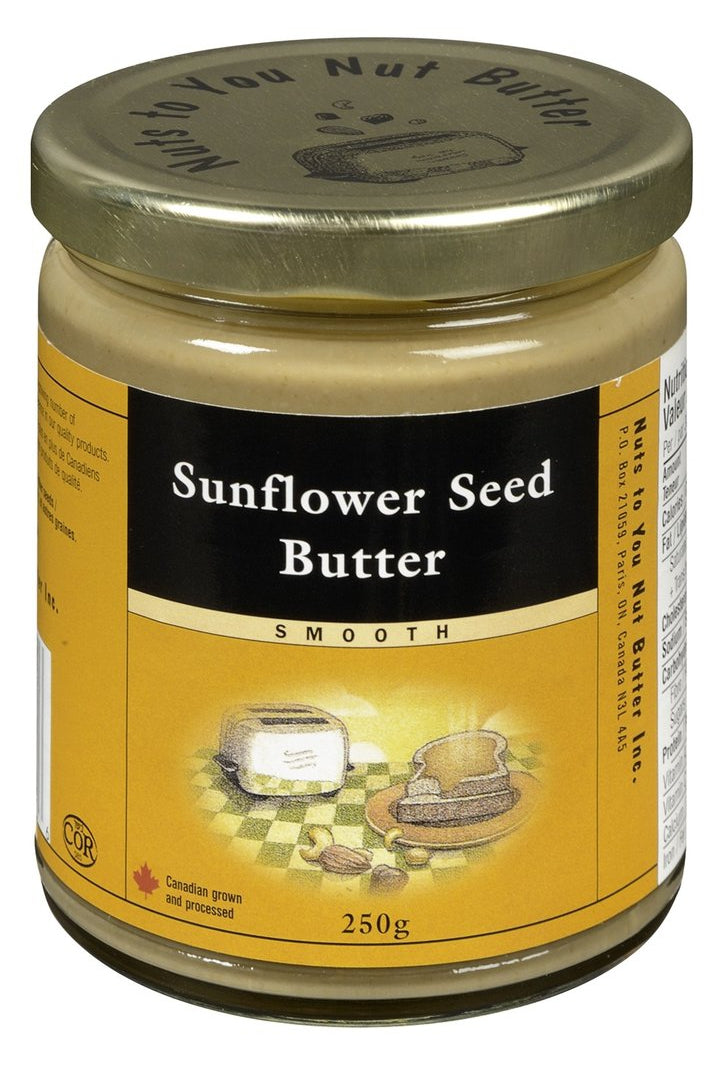 Nuts to You Sunflower Seed Butter - Smooth 250g