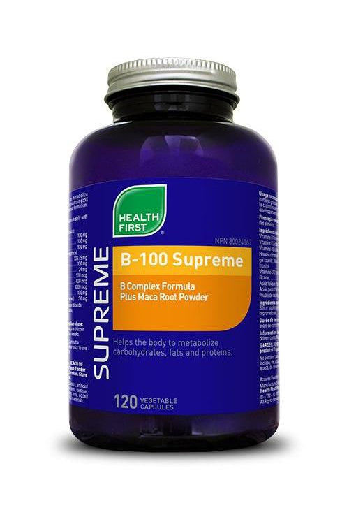 Health First B-100 Supreme 120s