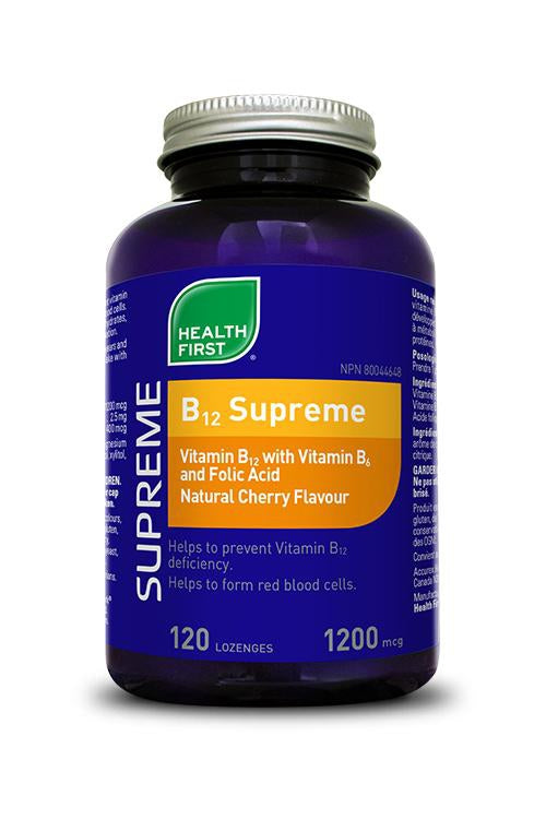Health First B-12 Supreme Lozenge 120s