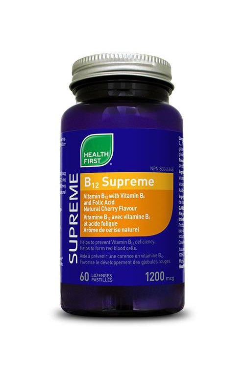 Health First B-12 Supreme Lozenge 60s