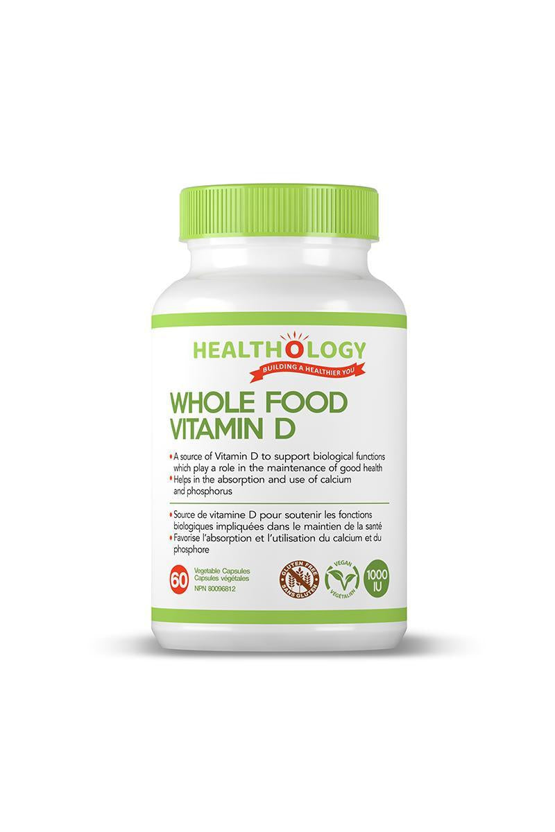 Healthology Whole Food Vitamin D 60s