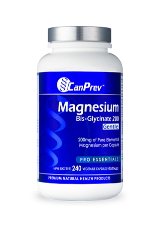 CanPrev Magnesium Bis-Glycinate 200 Gentle 240s