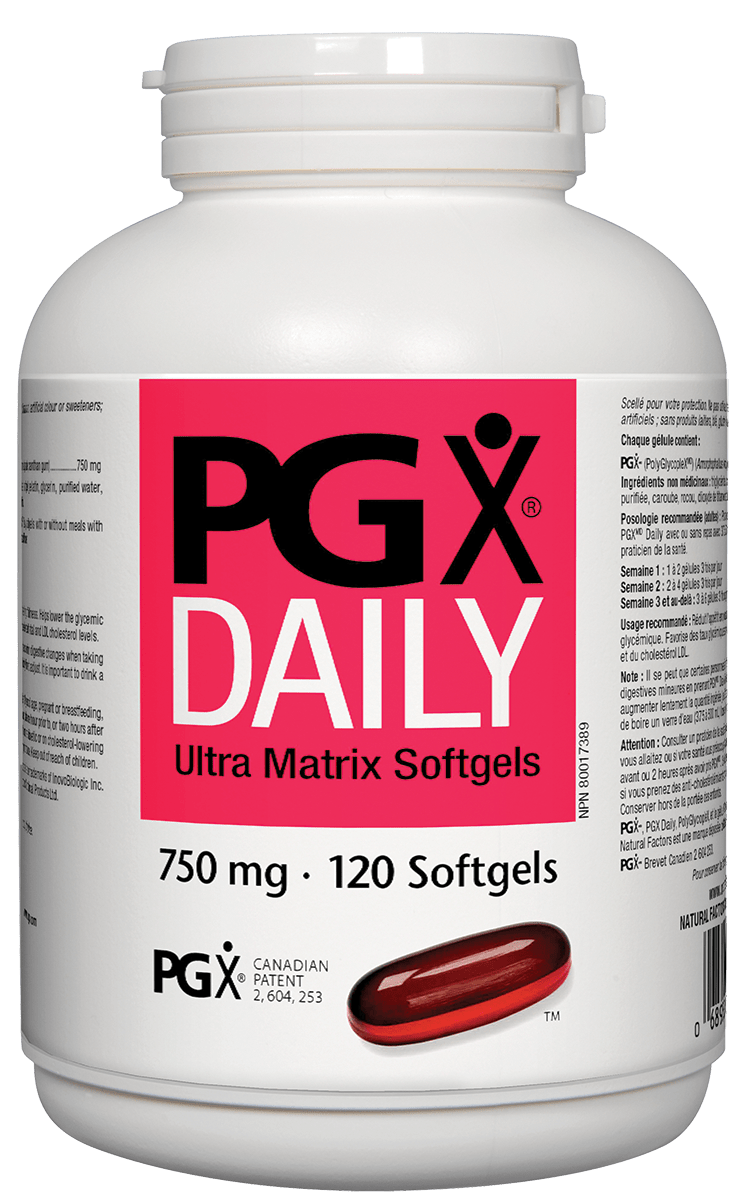 Natural Factors PGX Daily Ultra Matrix Softgels 120s