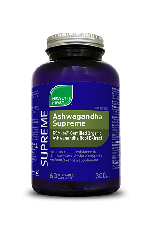 Health First Ashwagandha Supreme 60s