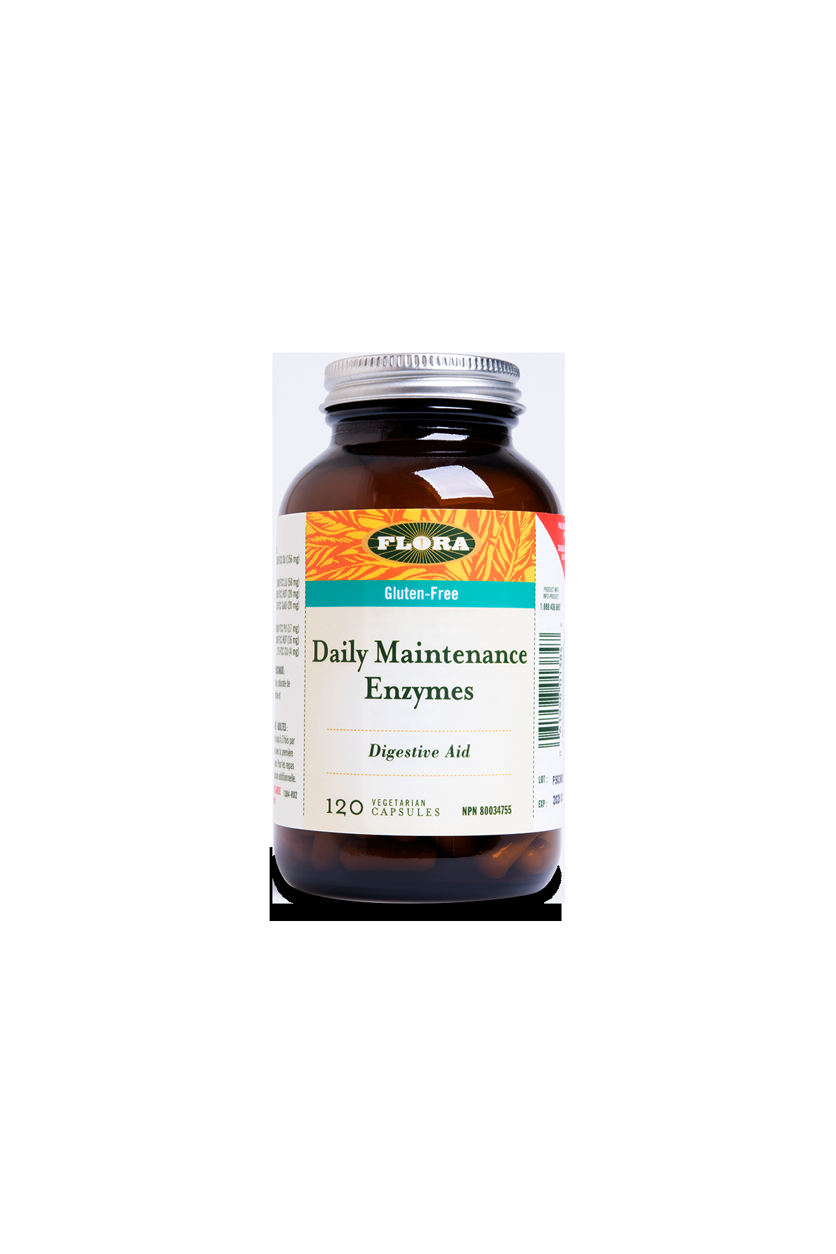 Flora Daily Maintenance Enzyme 120s