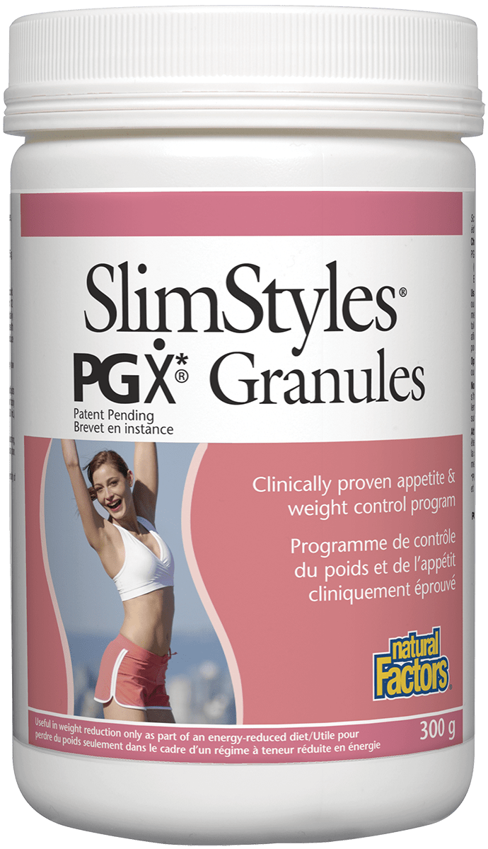 Natural Factors SlimStyles PGX Granules - Unflavoured 300g
