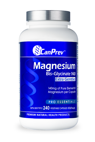 CanPrev Magnesium Bis-Glycinate 140 Extra Gentle 240s