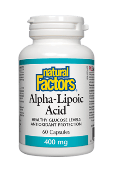 Natural Factors Alpha-Lipoic Acid 400 mg 60s