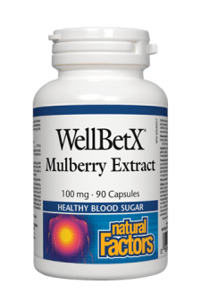 Natural Factors WellBetX Mulberry Extract 90s