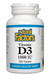 Natural Factors Vitamin D3 180s