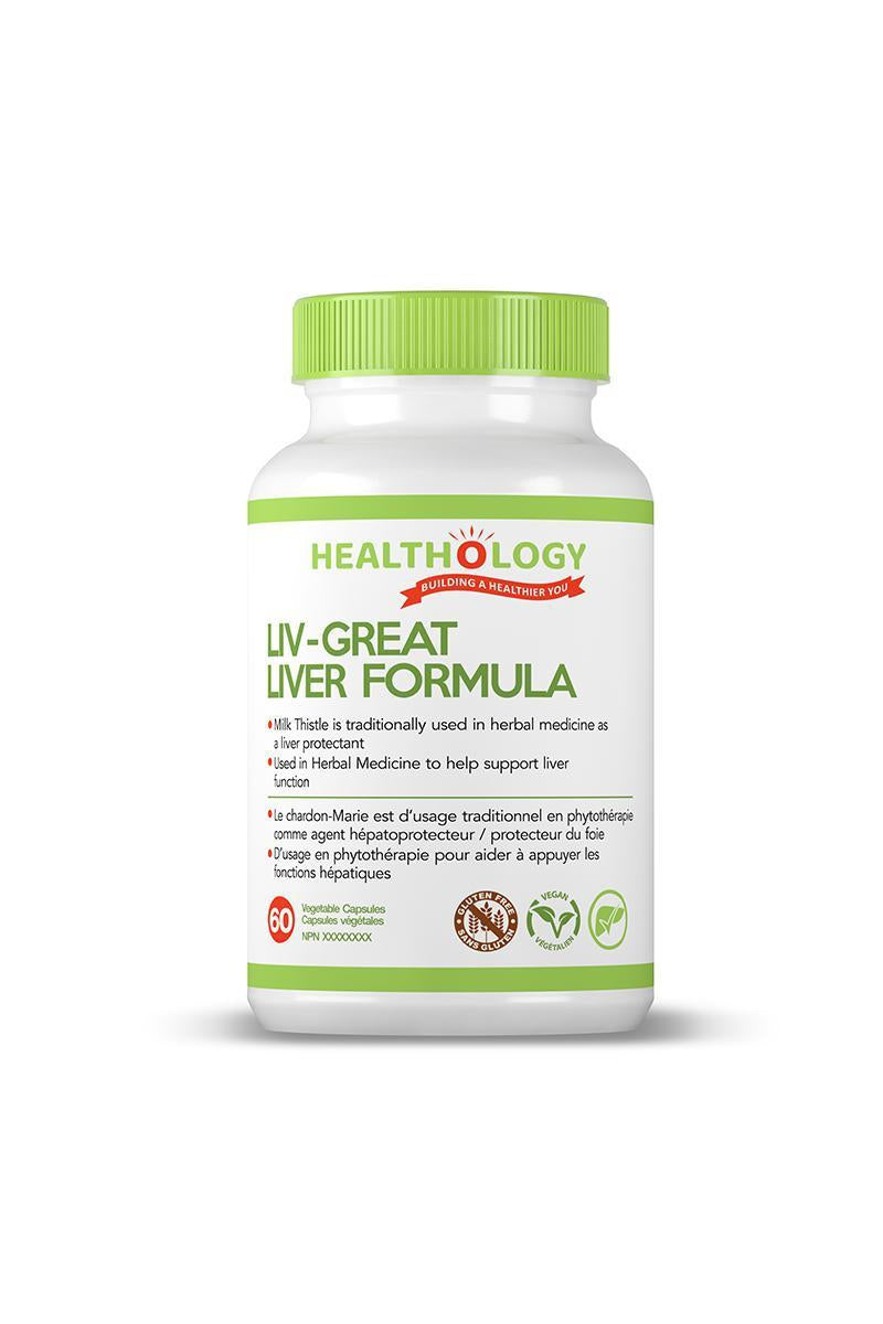 Healthology Liv-Great Liver Formula 60s