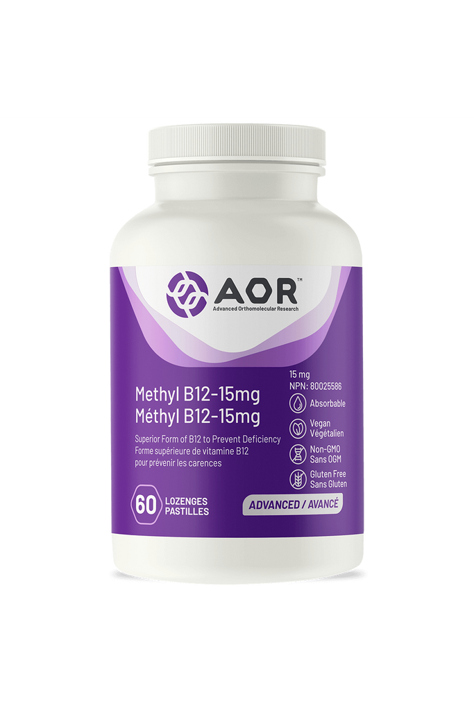 AOR Methyl B12-15mg 60s
