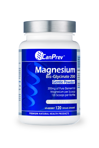 CanPrev Magnesium Bis-Glycinate 200 Gentle Powder 120g