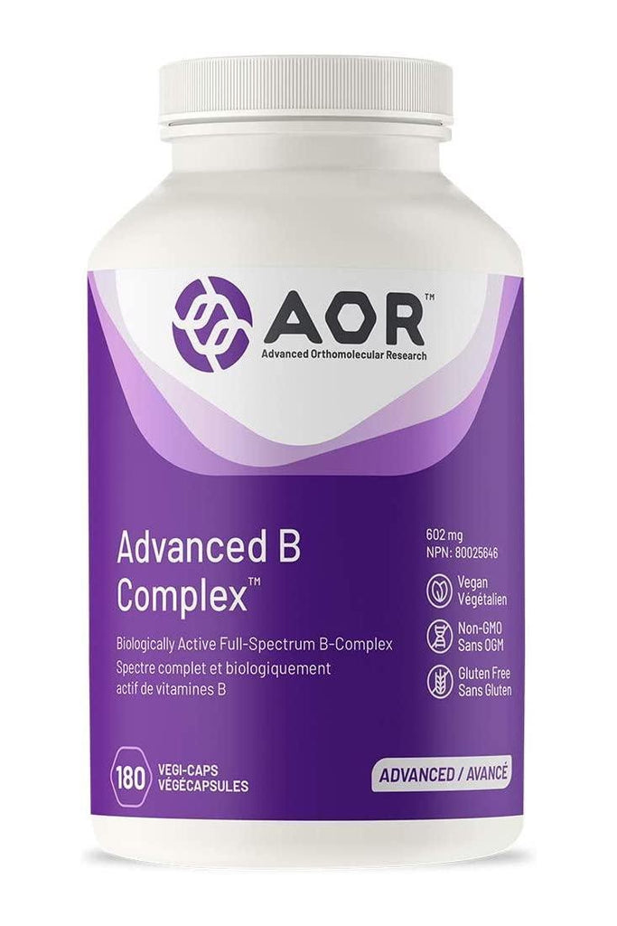 AOR Advanced B Complex 180s