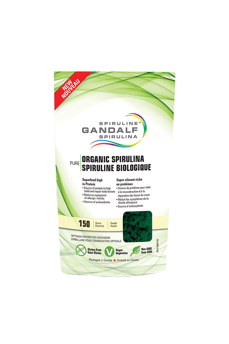 Gandalf™ Organic Spirulina Powder 150g