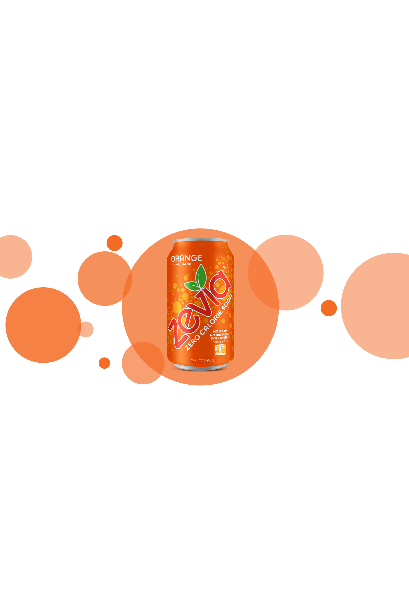 Zevia Orange 355ml