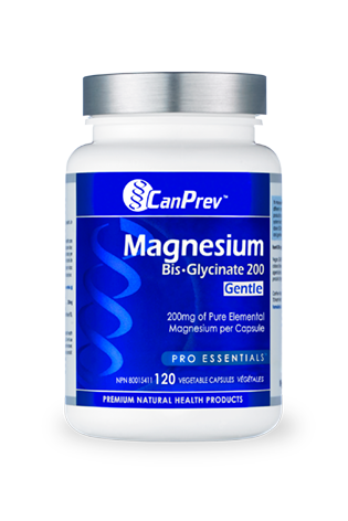 CanPrev Magnesium Bis-Glycinate 200 Gentle 120s