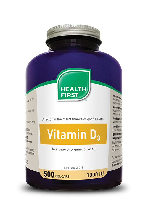 Health First Vitamin D 500s