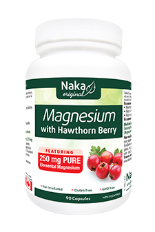 Naka Magnesium with Hawthorn Berry 90s