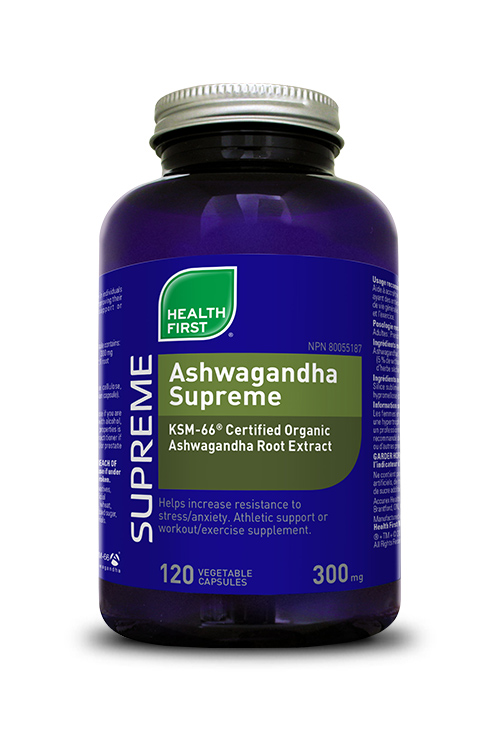 Health First Ashwagandha Supreme 120s