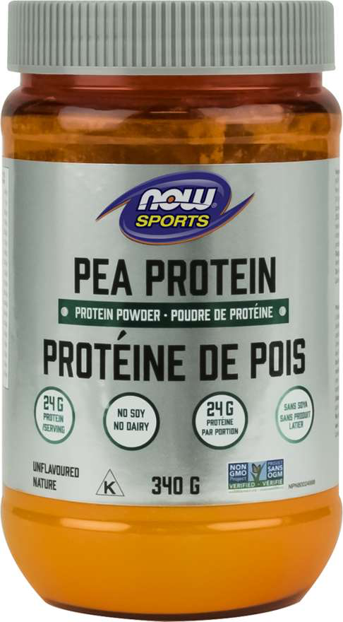 NOW Sports Pea Protein - Unflavoured 340g