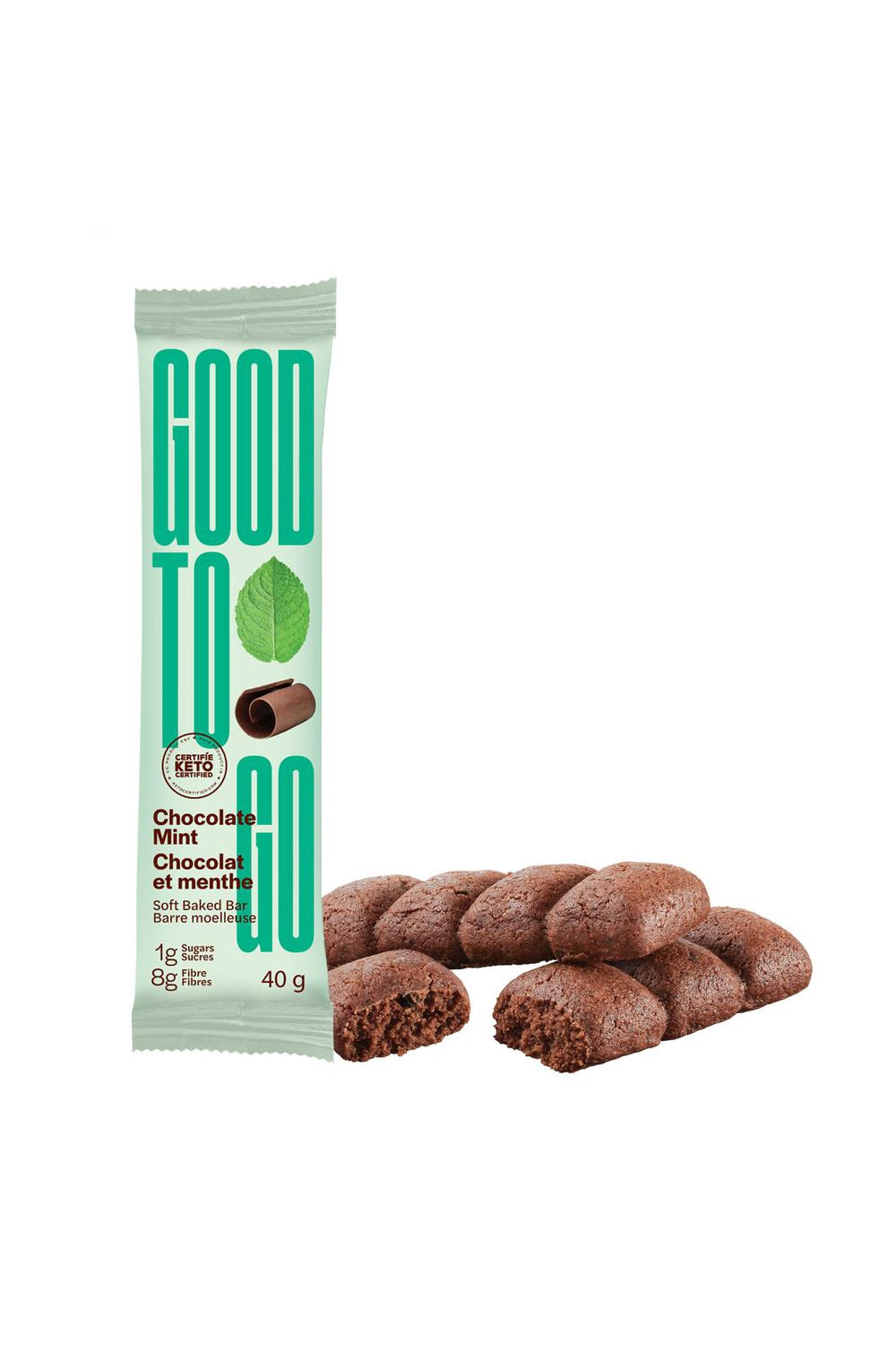 Good To Go Chocolate Mint Snack Bar 40g