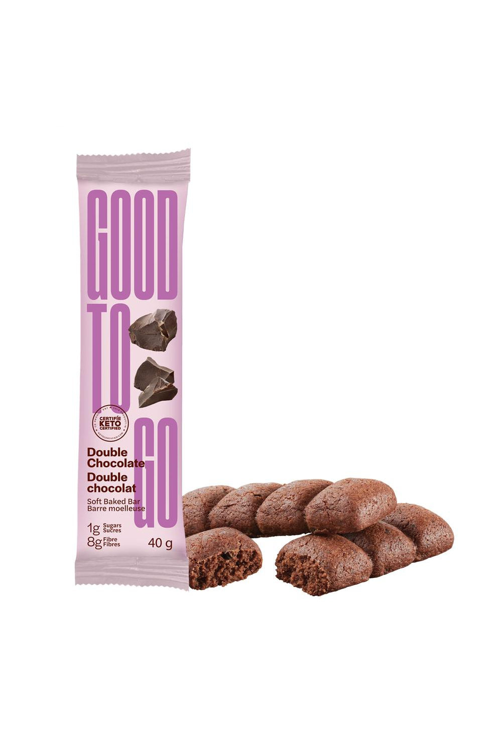 Good To Go Double Chocolate Snack Bar 40g