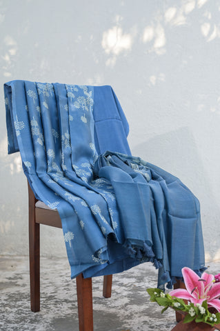 Blue Chanderi Salwar-2610