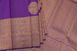 Violet Kanchipuram Saree-2362