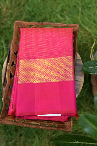 Pink Kanchipuram Saree-2666