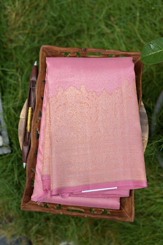 Pink Kanchipuram Saree-2641
