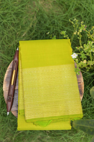 Green Kanchipuram Saree-2187