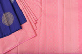 Blue and Pink Half&Half Kanchipuram Saree-2420