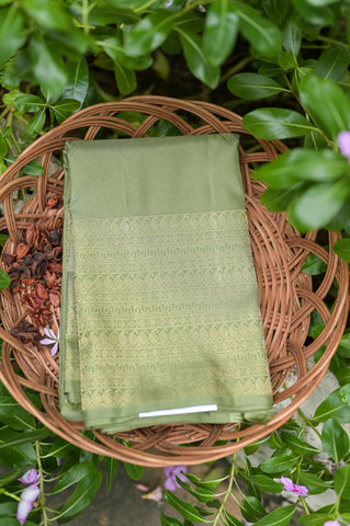 Pastel Green Kanchipuram Saree-2426