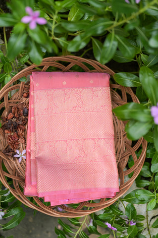 Pink Kanchipuram Saree-2405