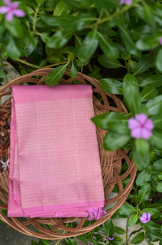 Pink Kanchipuram Saree-2422