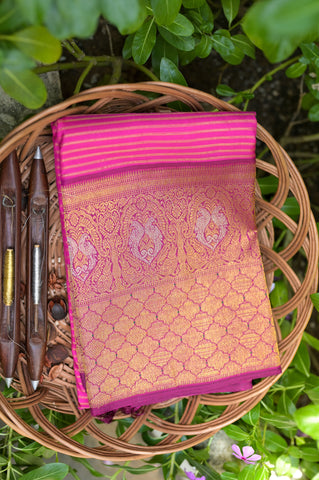 Pink Kanchipuram Saree-2495