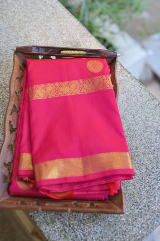 Pink Kanchipuram Saree-2356