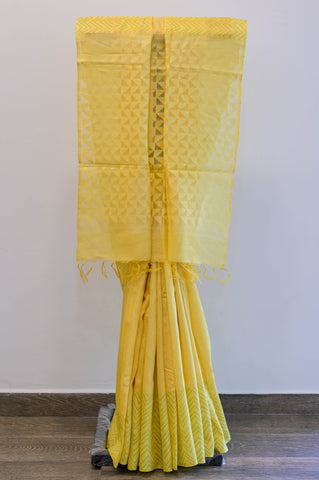 Yellow Kota Saree-2444