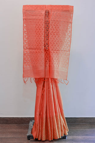 Red Kota Saree-2444A