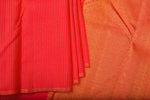 Reddish Pink Kanchipuram Saree-2246