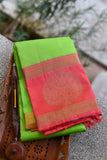 Light Green Kanchipuram Saree-1489