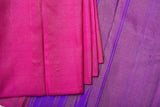 Pink and Purple Kanchipuram Saree-1795